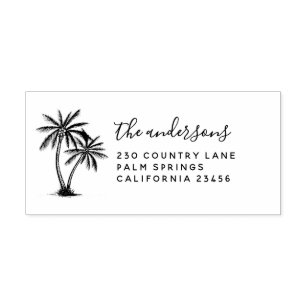 tropical stamps palm tree ink Palm Tree stamp palm tree rubber stamp mini stamps Miss Honeybird tree stamp mini palm tree stamp