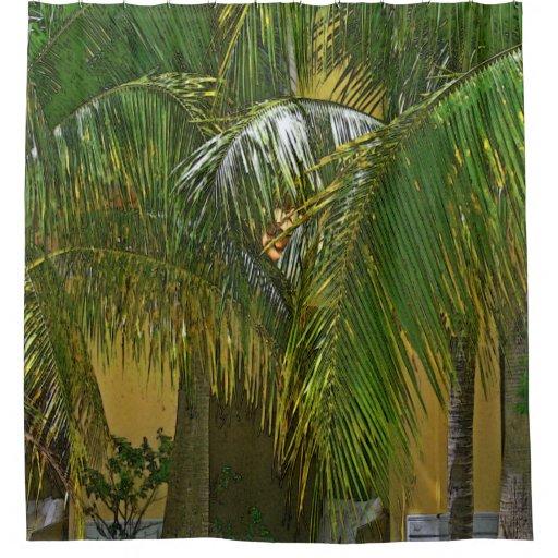 Palm Trees Shower Curtain Zazzle