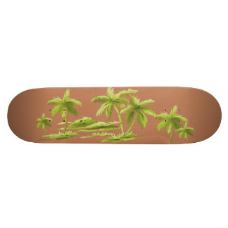 Palm Trees Skateboard