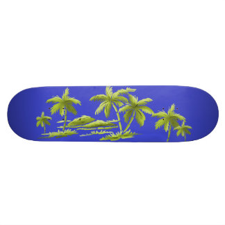 Palm Trees Skateboard Deck