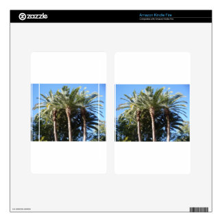Palm Trees Skins For Kindle Fire