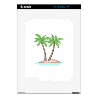 PALM TREES SKIN FOR iPad 2