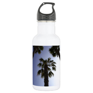 Palm Trees Stainless Steel Water Bottle