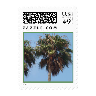 Palm Trees stamp