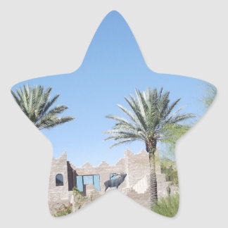 Palm Trees Star Sticker