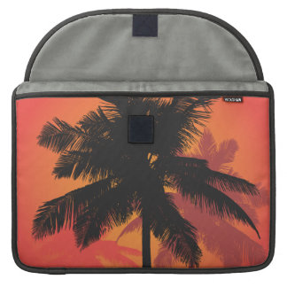 Palm Trees Sunset Silhouettes MacBook Pro Sleeves