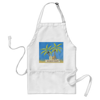 Palm Trees & Surf Boards Adult Apron
