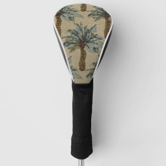 Palm Trees Tapestry Texture Look Golf Head Cover