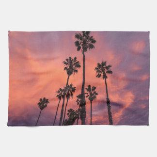 Palm trees towel