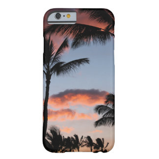 Palm trees tropical dreamy hipster photo sunset barely there iPhone 6 case
