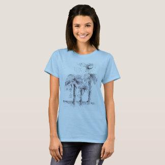 palm trees under the sun T-Shirt