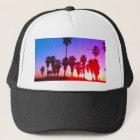 Palm Trees Venice Beach Trucker Hat