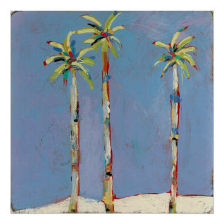 Palm Trio-Poster