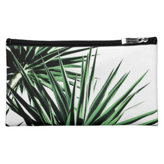 Palm Tropical abstract plant medium cosmetic bag