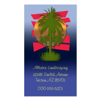 palm vista business card