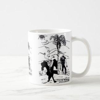 palm walker print coffee mug