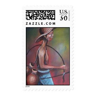 Palm Wine Tapper Postage