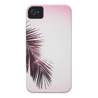 Palm winks Leaf with Sun iPhone 4 Case-Mate Case