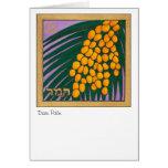 Palma datilera, una de las siete especies de Israe Tarjeton