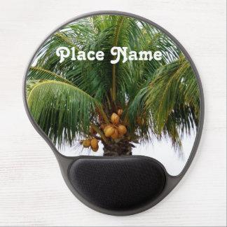 Palma de coco de Maldivas Alfombrilla De Raton Con Gel