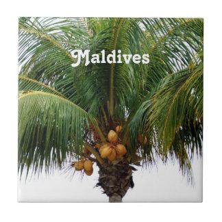 Palma de coco de Maldivas Tejas Ceramicas
