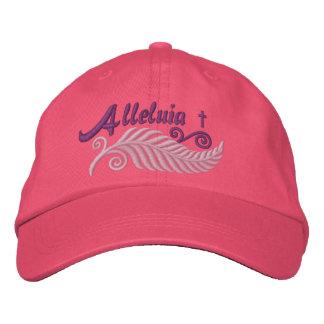 Palma de la aleluya con la cruz gorras de béisbol bordadas