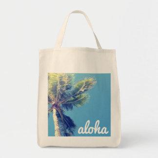 Palma de la hawaiana bolsa tela para la compra