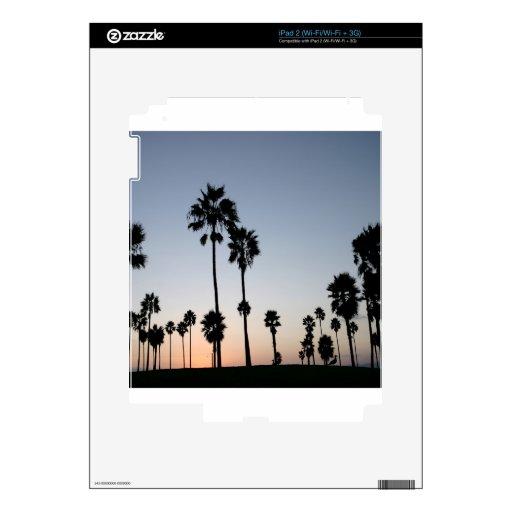 Palma de la playa de Venecia del árbol Calcomanía Para iPad 2