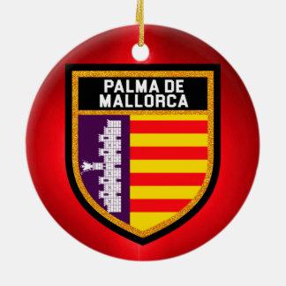 Palma de Mallorca Flag Ceramic Ornament