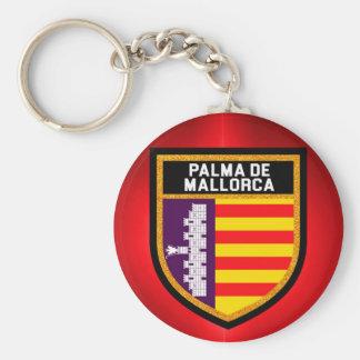 Palma de Mallorca Flag Keychain
