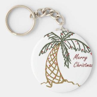Palma del navidad llaveros personalizados