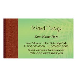 palma del tapa del choco tarjetas de visita