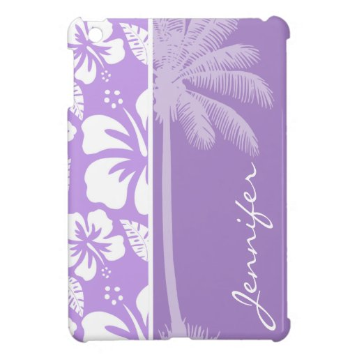 Palma del verano; Hibisco tropical de la lavanda b