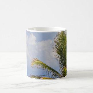 Palma enmarcada taza clásica