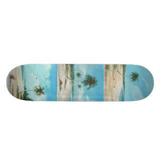 palma, playa arena, playita skate board deck