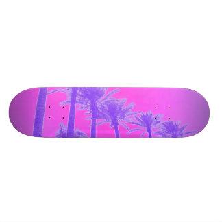 palma púrpura monopatín personalizado