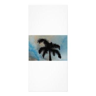 Palma Silloutte de la reina de la Florida Plantillas De Lonas