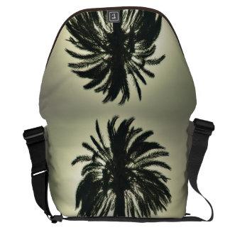 Palma soleada bolsas de mensajería