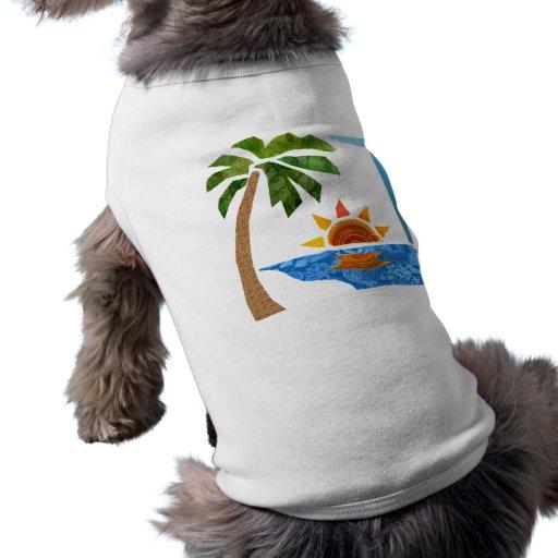 Palma, Sun y mar Camisetas De Perrito