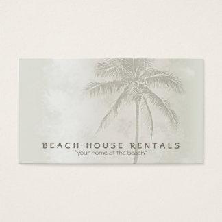 Palma tropical (estándar) tarjetas de visita