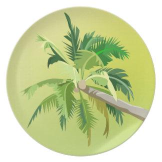 Palma verde platos