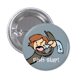 ¡Palmada de los pescados! Pin