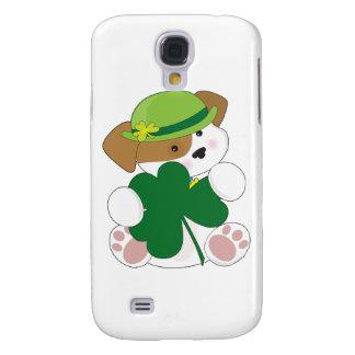 Palmaditas lindas del St del perrito Funda Para Galaxy S4