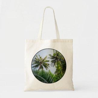 Palmas de coco bolsa tela barata