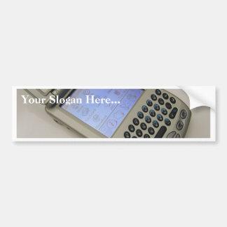 Palmas de los teléfonos móviles de los PDA de la P Etiqueta De Parachoque