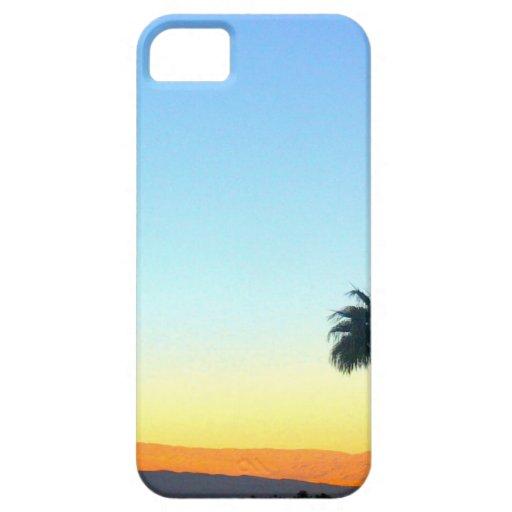 Palmas del panorama iPhone 5 protectores
