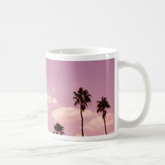 palmas del rosey taza clásica