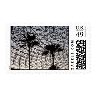 Palmas geométricas sello