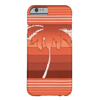 Palmas hawaianas de Hilo rayadas Funda Barely There iPhone 6