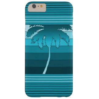 Palmas hawaianas de Hilo rayadas Funda Barely There iPhone 6 Plus